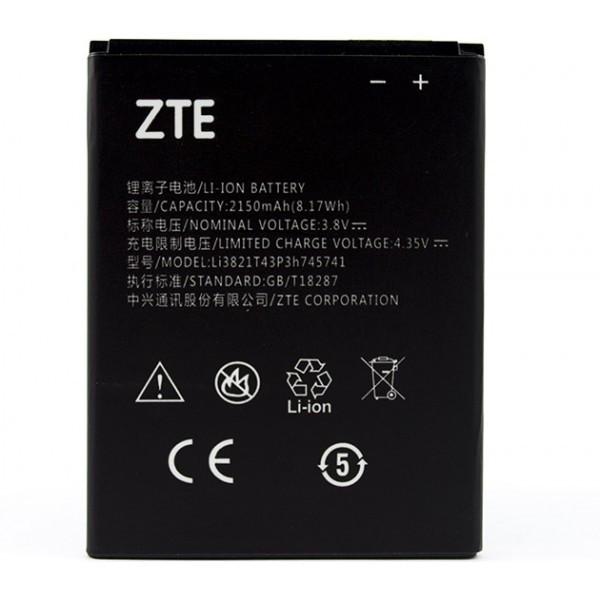 Батарея ZTE Li3821T43P3h745741 ZTE L5 plus 2150 мА*ч