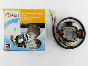 Катушка генератора Suzuki Address 50/100 (без датчика холла три провода) Gpoil