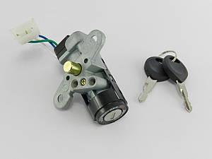 Замок зажигания (голый) Honda Dio/ZX AF-35 (три провода)