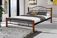 Ліжко  РЕЛАКС ВУД 160 Микс мебель , чорний