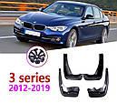 Брызговики MGC BMW 3 F30, F31 Америка 2012-2019 г.в. комплект 4 шт 82162218983, 82162218984, фото 4