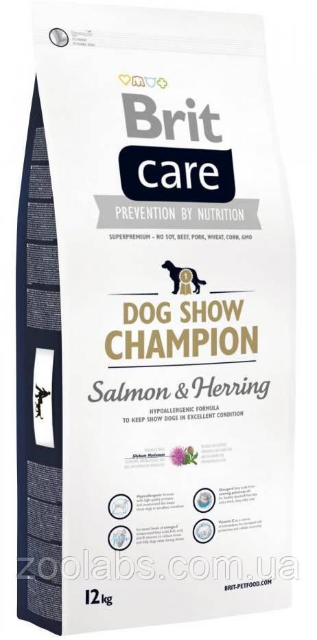 Корм Brit Care для выставочных собак   Brit Care Dog Show Champion 12,0 кг