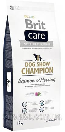 Корм Brit Care для выставочных собак   Brit Care Dog Show Champion 12,0 кг, фото 2
