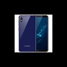 Смартфон синий, тонкий с большим экраном на 2 сим карты Cubot J5 blue 2/16GB