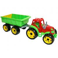 Детский Трактор с прицепом 03507