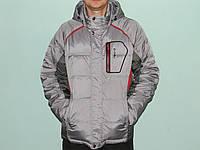 Куртка мужская зимняя молодежная серая