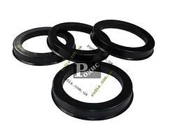 Кольца центровочные 69,1-58,6 - Проставочные кольца для дисков 69.1х58.6