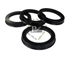 Кольца центровочные 70,1-54,1 - Проставочные кольца для дисков 70.1х54.1