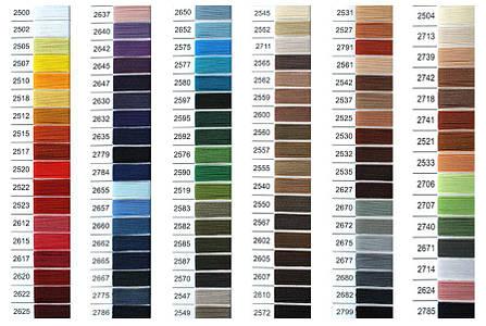 Нить Титан №20 2000 м. Польша цвет (2682) темносірий, фото 2