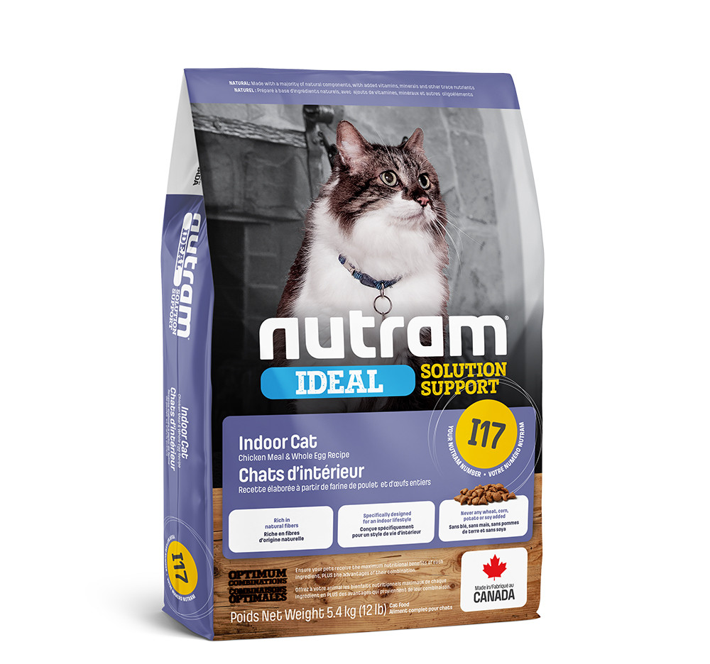 Сухой корм Nutram I17 Ideal Solution Support Indoor Cat 320г