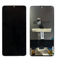 Дисплей для мобильного телефона Xiaomi RedMi Note 8 Pro, черный, с тачскрином