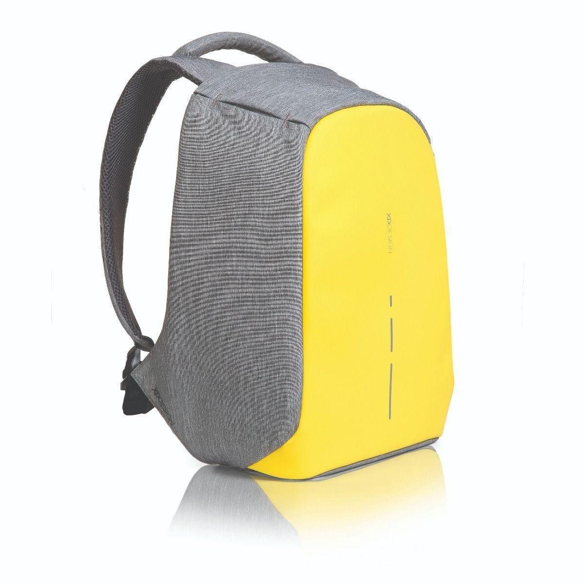 """Рюкзак городской с защитой антивор XD Design Bobby Compact 14"""". Primrose Yellow"""