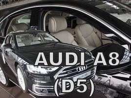 Дефлектори вікон (вітровики) Audi A-8 D5 2017-> 4шт (Heko)