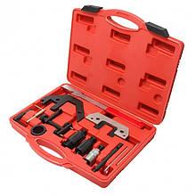 Набор фиксаторов для обслуживания двигателей BMW, 8 пр. (M40/M42/M50/M60/M62/M70), в кейсе