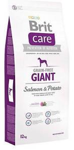 Корм Brit Care для собак весом от 45 кг | Brit Care Giant Salmon & Potato 12,0 кг