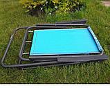 Стул - кресло Mavens раскладноое голубое в полоску (550100), фото 2