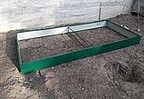 Бордюр для грядок оцинкованный Mavens, 120 х 240 х 38 см, фото 4