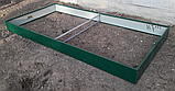 Бордюр для грядок оцинкованный Mavens, 120 х 240 х 38 см, фото 6