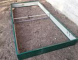 Бордюр для грядок оцинкованный Mavens, 120 х 240 х 38 см, фото 7