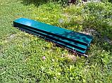 Бордюр для грядок оцинкованный Mavens, 120 х 360 х 38 см, фото 3