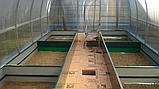 Бордюр для грядок оцинкованный Mavens, 120 х 360 х 38 см, фото 5
