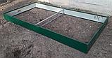 Бордюр для грядок оцинкованный Mavens, 120 х 360 х 38 см, фото 6