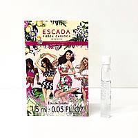 ПРОБНИК женские духи ESCADA Fiesta Carioca 1.5ml туалетная вода, летний цветочно-фруктовый аромат ОРИГИНАЛ, фото 1