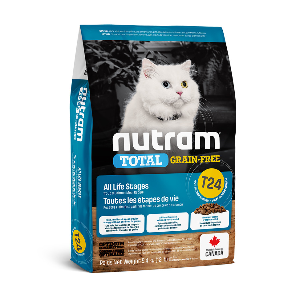 Сухой корм Nutram T24 Total GF Salmon&Trout Cat Cat 320г