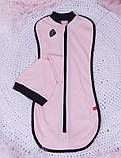 Летний набор одежды для новорожденной девочки Baby Bag розовый, фото 4