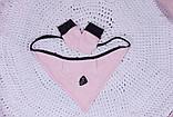 Летний набор одежды для новорожденной девочки Baby Bag розовый, фото 8