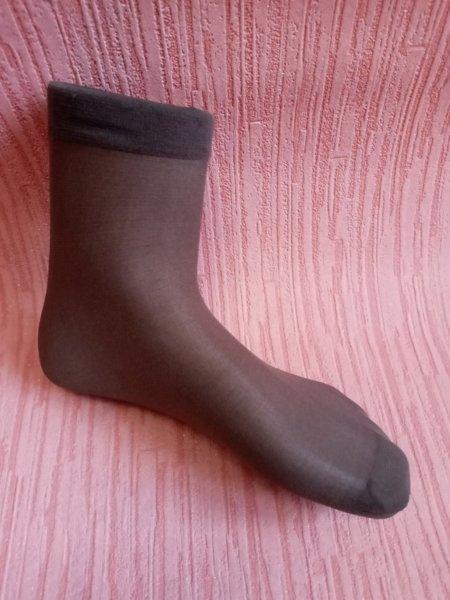 """Шкарпетки жіночі капронові """"Катерина"""". Колір мокко.Від 10шт по 3 грн"""