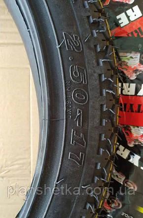Покрышки на мопед 2.50-17 с камерой шоссейная, фото 2