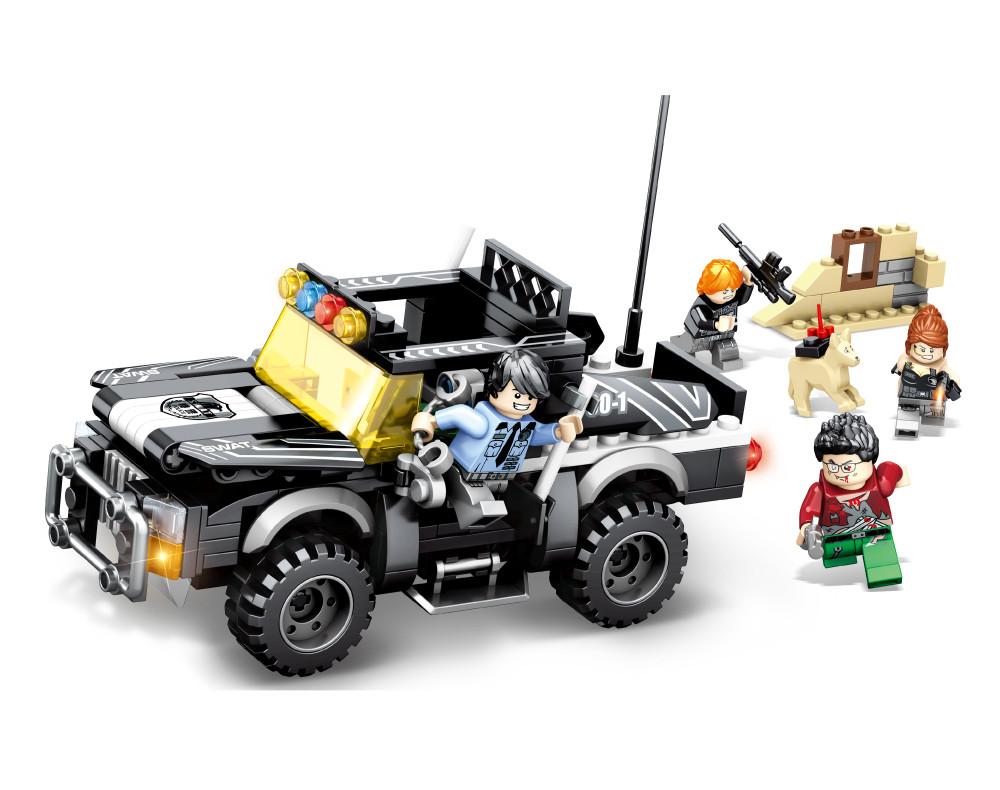 """Конструктор JVToy """"Поліцейський Джип"""", серія """"Чудове місто"""" (24009)"""