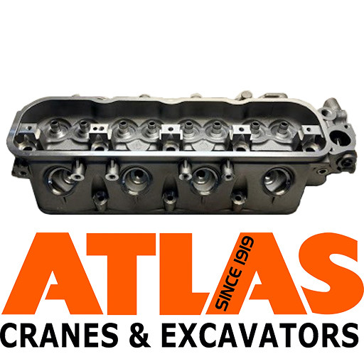 Головка блока цилиндров для спецтехники Atlas
