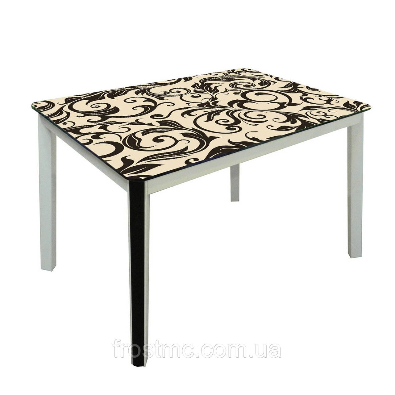Кухонний стіл ДКС-Престиж Антонік 1050х650х750 мм Білий Фарбування