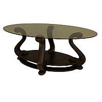 Журнальний стіл МС-1 Мілан Антонік 1300x600x580 мм темний горіх тонований