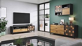 Модульная мебель-комплект SOUL 3 антрацид (CAMA)