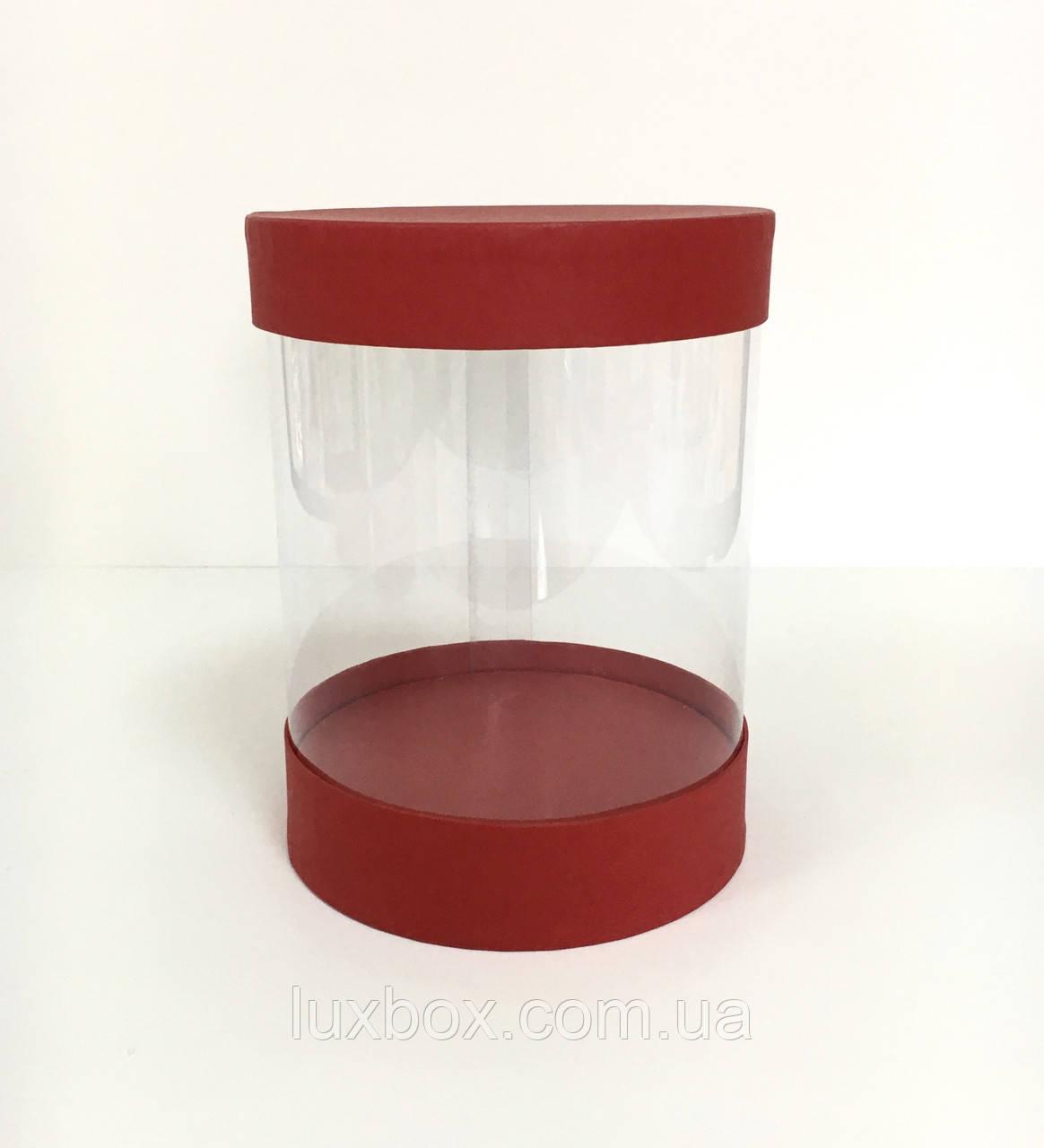 Прозора коробка (акваріум) h16/d16