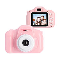Цифровой детский фотоаппарат XoKo KVR-001 Розовый