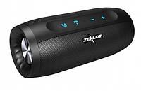 Беспроводная Bluetooth колонка Zealot S16 стереозвук HiFi (Черный)