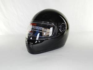 Шлем YOHE (CRG  F-2 №936) черный глянцевый с подбородком