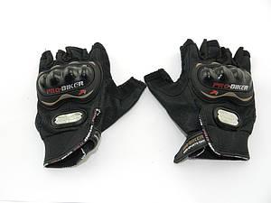 Перчатки PROBAIKE ткань без пальцев, G