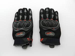 Перчатки PROBAIKE ткань с пальцами, G