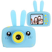Цифровой детский фотоаппарат XOKO KVR-010 Rabbit Голубой