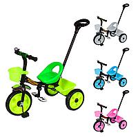 Трехколесный детский велосипед TILLY MOTION T-320 с родительской ручкой
