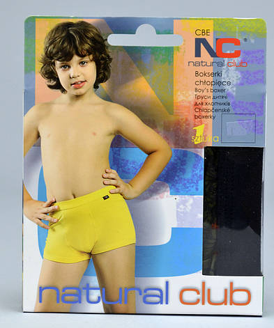Труси - боксери Natural Club #1108 134 см сірий, фото 2