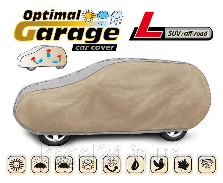 Тент для автомобіля Optimal Garage розмір L SUV/Off Road