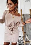 Платье женское светлый беж,оливковый,фрез 42-46 48-52, фото 2