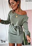Платье женское светлый беж,оливковый,фрез 42-46 48-52, фото 5