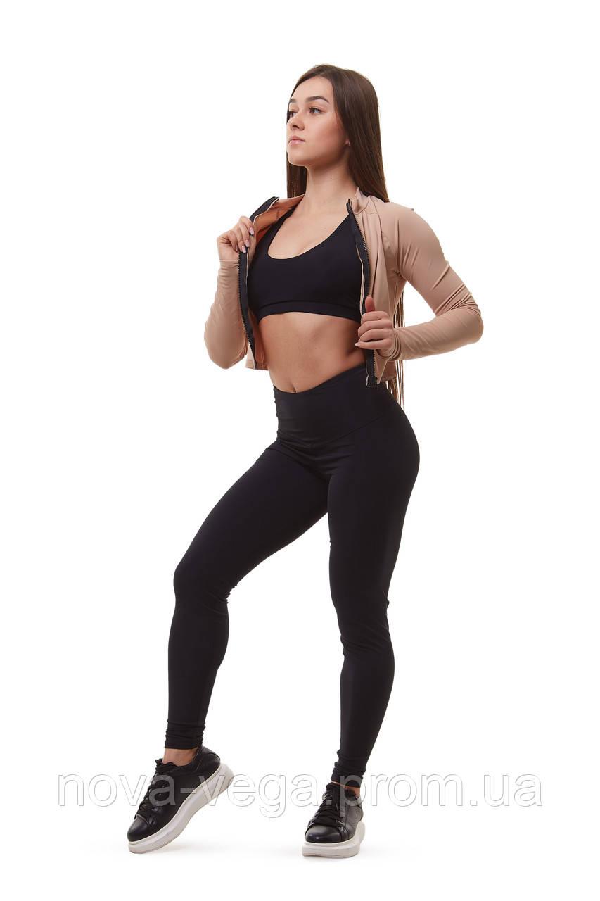 Женский спортивный костюм для фитнеса Beige Edition